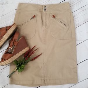 Ralph Lauren Khaki Skirt
